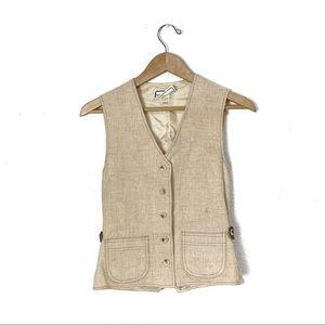 Vintage 1950s Bobbie Brooks vest XS/S